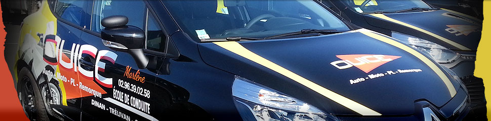 Auto Ecole Ouice : permis de conduire à Dinan et Caulnes